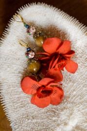"""Fancy Earrings """"Félinité"""" - SOLD"""