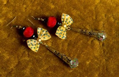"""Fancy Earrings """"Venise"""" - SOLD"""