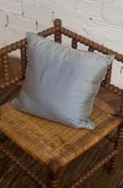 Coussin en soie fait main