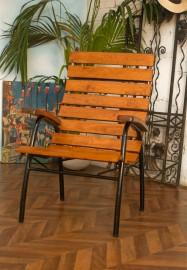 """Gros fauteuil """"Le canotier"""""""