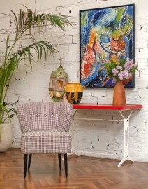 Fauteuil cocktail Twiggy 50s