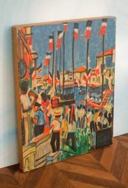 Paire d'affiches 1960