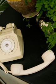 Téléphone blanc