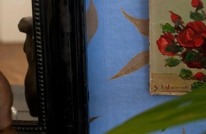 Nature morte aux roses rouges