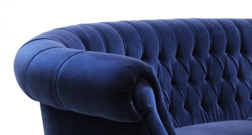 Canapé Bette - Bleu Minuit