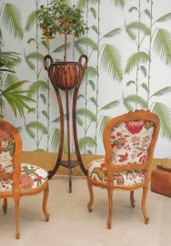 """Chaises """"Pondichéry"""" - la paire"""