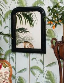 Miroir Louis-Philippe noir
