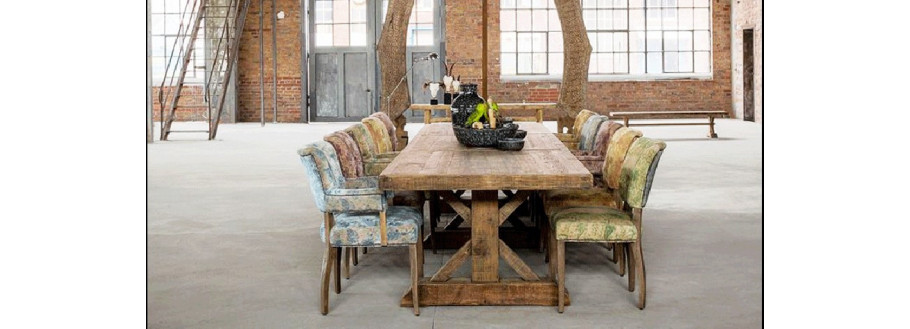 Large Wooden Dining Tables Collection