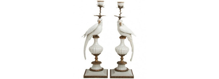 CERAMICS & PORCELAIN: Romantic & Baroque Home Deco Accessories