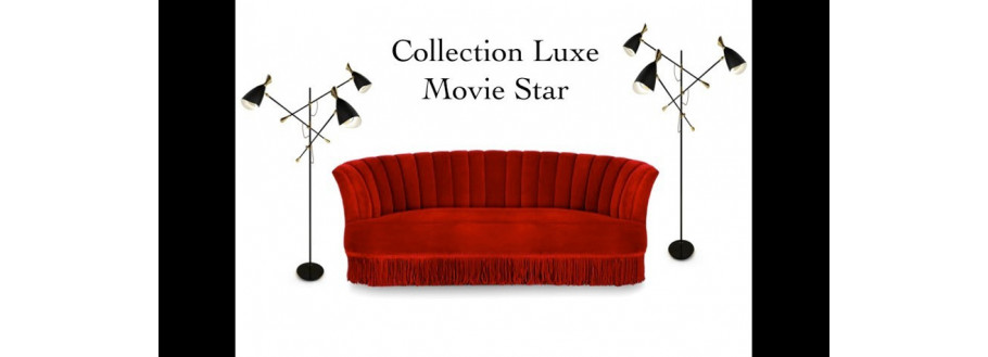 Luxury Movie Star Collection - Mid-Century Design